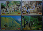 PASSAGE TO INDIA David Lean 1984 Peggy Ashcroft COMPLETE YUGO LOBBY CARDS SET