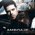 AMBOAJE--ALL ABOUT LIVING CD 2015 MEL ROCK RECS.  BON JOVI  AIRLESS HARD SPIRIT