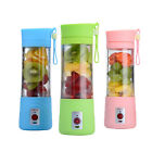 3 Colors Portable USB Rechargeable Electric Fruit Juicer Machine Smoothie Maker