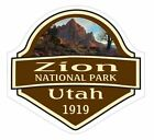 Zion National Park Sticker Decal R1465 Utah YOU CHOOSE SIZE