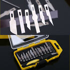 16pcs Craft Hobby Knife Razor Set w Exacto Precision Cutting Blades