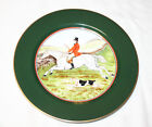 Fitz and Floyd Tallyho Fox Hunt Luncheon Plate 9 1/4 Inches No. 1