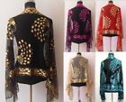 Hot SELL New Chinese Lady Women Beaded Sequin Shawl Scarf Wraps Peacock