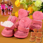 Cute Chihuahua Dog Shoes Small Dogs Pet Shoes Puppy Winter Warm Boots Shoes