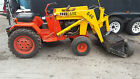 Case 646 front loader tractor with power steering mod and 18hp onan engine