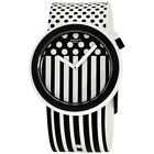Swatch New POP Pop Dancing Two Tone Dial Silicone Strap Unisex Watch PNW101