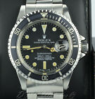 Rolex Vintage Submariner 1680 2.2 Million Serial Excellent Condition Patina