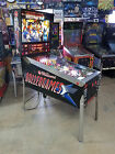 Williams ROLLERGAMES Pinball Machine w/ Rare DiamondPlate Playfield