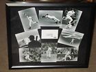NY Yankees Derek Jeter Signed B&W Collage 16x20 Photo Steiner AUTO FRAMED LE 22