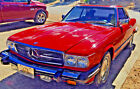 1986 Mercedes-Benz SL-Class Cpe -Convertable for $10000 dollars