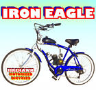 2018 IRON EAGLE GAS PETROL MOTOR BIKE BICYCLE 48 49 50 66 80 CC SCOOTER MOPED