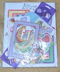 ALL OCCASION SCRAPBOOKING KIT STENCILS FRAMES CARD STOCK PAPER EMBELLISHMENT NEW