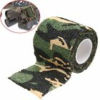 5CM*4.5M Camo Gun Hunting Waterproof Camping Camouflage Stealth Duct Tape Wrap