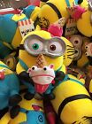 USJ official limited edition 2017 MINION BITES Plush S F S From Japan