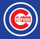 CM Punk Chicago Cubs shirt WWE UFC ECW Cubbies Champs The Best In The World