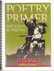 Imitation in Writing  The Grammar of Poetry Primer Teachers and Student