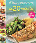 Weight Watchers Cooking Weight Watchers in 20 Minutes 2008 Spiral Hardcover