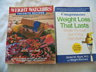 Lot of 2 WEIGHT WATCHERS BOOKS Weight Loss That Lasts Recipe CookBook