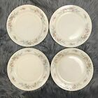 Homer Laughlin Eggshell Nautilus Floral Dinner Plates and Serving Platter F43 N5