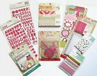 Crate Paper Oh Darling 6x6 Paper Pad  Embellishments Set e Save 60