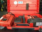 HILTI TE 6-A 36 V CORDLESS HAMMER DRILL with charger, 2 batteries and carry case