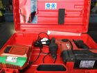 HILTI TE 6-A 36 V CORDLESS HAMMER DRILL with charger, battery and carry case