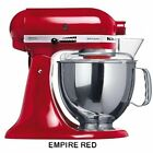 Stand Mixers Kitchen Aid 5KSM150 Stand Mixer Empire Red- 220 Volts Only Will Not