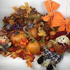 Fall Autumn Decorations Lot Leaves Scarecrow Pumpkins Classroom Friendly Cute