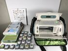 HUGE Cricut Create CRV20001 Die Cut Machine Bundle 18 Cartridges Works Great