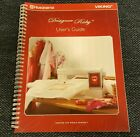 Husqvarna Viking Designer Ruby User's Guide Instruction Manual w/ Quick Guide