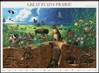 US NATURE 2001 SCOTT 3506 GREAT PLAINS PRAIRIE Set Of 10 MNHVF 34c STAMP SHEET