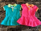 Lot Of 2 Adidas Baby Girls Dresses 9 Months