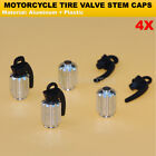 Wheel Tyre Valve Stem Caps For Benelli Can-Am Lifan Indian All American Choppers