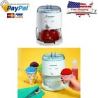 Electric Ice Shaver Machine Snow Cone Maker Crusher Shaving Cold Drink Blades
