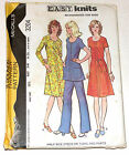 Vintage 1970s Pattern McCalls 3204 Dress Tunic Pants Uncut Size 16 1 2