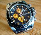 Mens Invicta Watch, Festina -Stainless Steel with Black & Gold Face