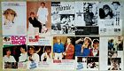 WHAM GEORGE MICHAEL 80s japanese swedish french clippings magazines poster