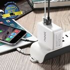 Dual USB 4.2 Amp High Speed Fast Smart Phone Charger All iPhones Samsung HTC LG