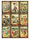 9 Beach Fun in the Sun Vintage Hang Tags Scrapbooking Paper Crafts (300)