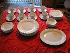 Johnson Brothers China Ironstone, White Regency, 50 Set