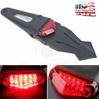12V Universal Dirt Bike Motorcycle LED Enduro Brake Rear Tail Light Off Road USA
