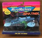 Vintage Galoob 1993 Micro Machines Star Trek The Movies 2 USS Excelsior Reliant