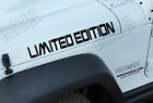 LIMITED EDITION 3 Pack off road vinyl sticker decal Fits Jeep wrangler JK13