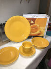Fiesta 5 PIECE PLACE SETTING - 1st.-New - with CUP and SAUCER -  MARIGOLD