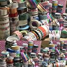 35 Pcs Roll Lots DIY Self Adhesive Glitter Mixed Washi Masking Tape Craft Decor