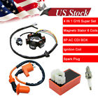 Racing CDI Ignition Coil Magneto Stator Rectifier For GY6 150cc 200cc 250cc ATV