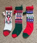 Avon Christmas Nut Crackers Soldier Angel Wreath Knit Stocking Holiday Decor Lot
