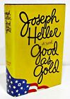 GOOD AS GOLD by JOSEPH HELLER HCDJ 1ST 1ST SIGNED COPY