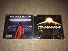 NICKELBACK - FEED THE MACHINE + NO FIXED ADRESS - AUTOGRAPHED 2xCD SET SIGNED