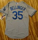 Authentic Cody Bellinger Los Angeles Dodgers Jersey 44 Road Gray